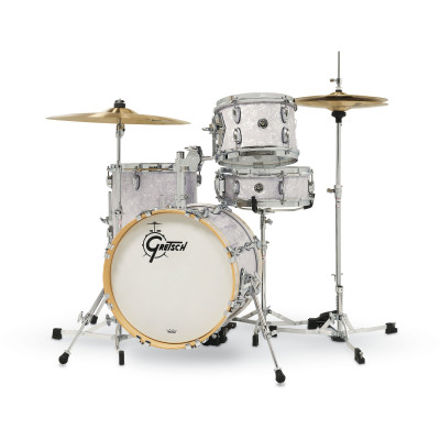 Gretsch Brooklyn Micro Kit 4pc in White Marine Pearl