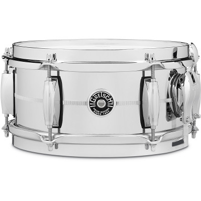 "Gretsch Brooklyn 5"" x 10"" Chrome Over Steel Snare Drum"
