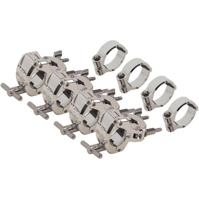 Gibraltar GBP-CMCWM Chrome Multi Clamp Package 4pc