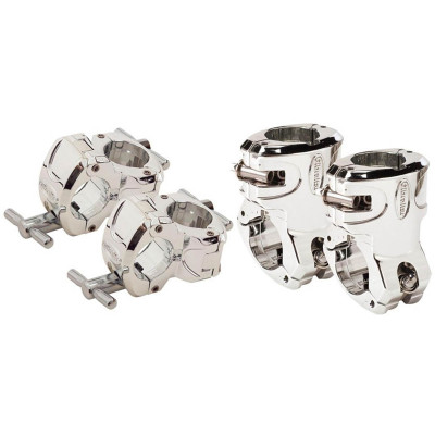 Gibraltar GBP-CTCARA Chrome Series T-Leg & Right Angle Clamp Package