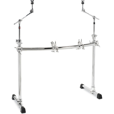 Gibraltar GCS302C Chrome Series Curved Front Rack w/ Boom Arms