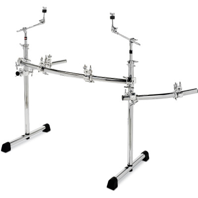 Gibraltar GCS375R Chrome Series Curved Rack w/ Wings and Boom Arms