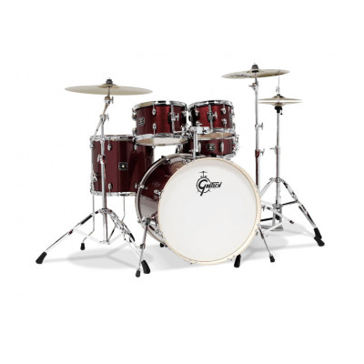 Gretsch Energy Jazz Kit with Hardware Pack - Ruby Sparkle