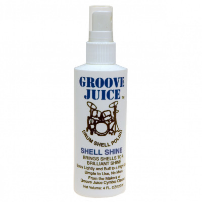 Groove Juice Shell Shine Drum Polish