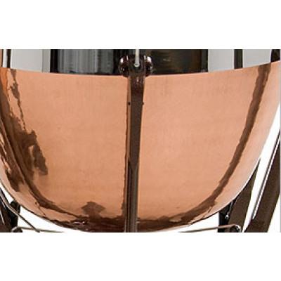 Adams Professional Gen II Timpani Hammered Cambered Copper Standard 5 w/ Fine Tuner