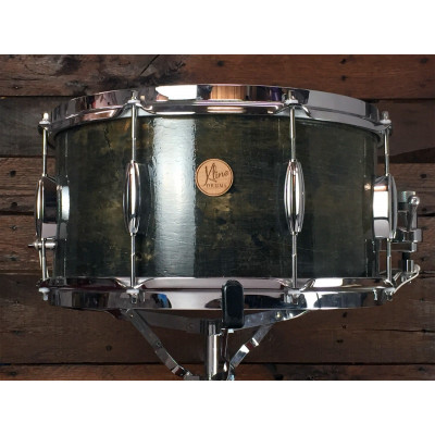 "Kline Drums 14"" x 7"" 3ply Snare in Rustic Lacquer Finish"