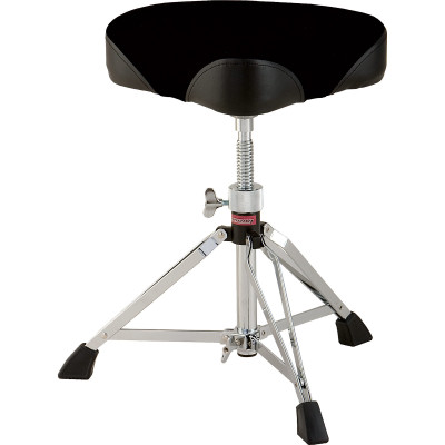 Ludwig Saddle Style Throne Standard Double Brace Fabric Top - L349TH