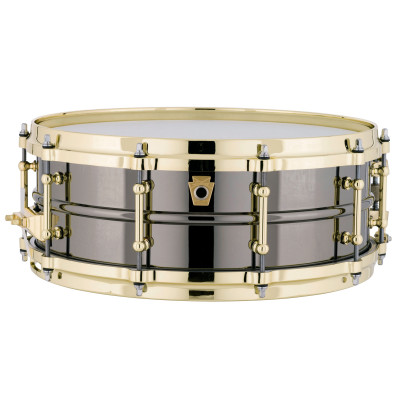"Ludwig 5"" x 14"" Black Beauty ""Brass on Brass"" Snare Drum"