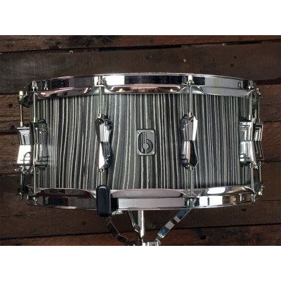 "British Drum Company 14"" x 6.5"" Legend Snare Drum - Carnaby Slate"