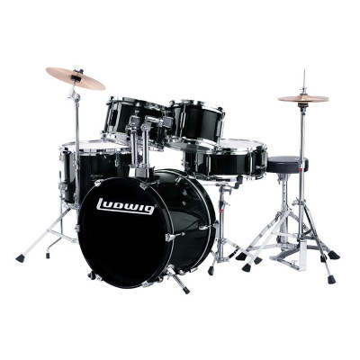 Ludwig Jr Complete 5pc Kids Drum Set