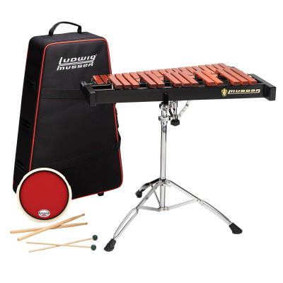 Musser Paduk Xylophone Kit w/ Rolling Carrying Case