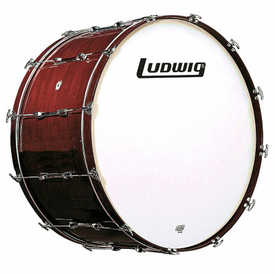 Ludwig Concert Bass Drum - Mahogany Stain