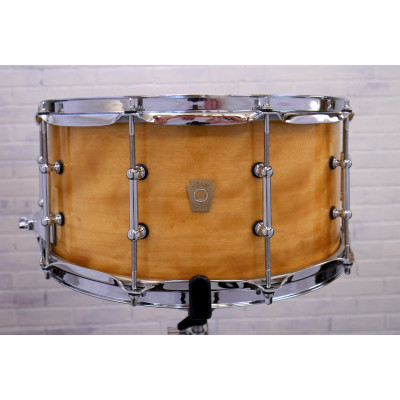 "Ludwig 6.5"" x 14"" Satinwood Classic Maple 9ply Snare Drum"