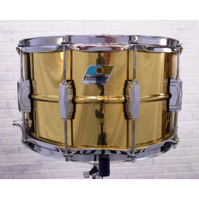 "Ludwig 8"" x 14"" Super Brass Snare Drum"