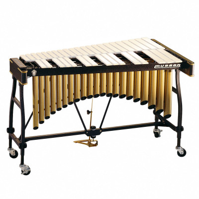 Musser M55G Gold Complete Vibraphone Frame with Motor & Resonators