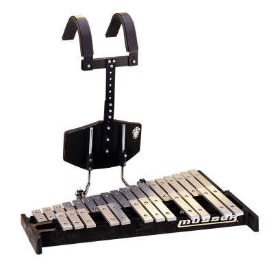 Musser 2.5 Octave Marching Bells w/ Omni Carrier - M65S