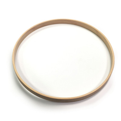 Unfinished Maple Hoops for Toms & Snare Drum