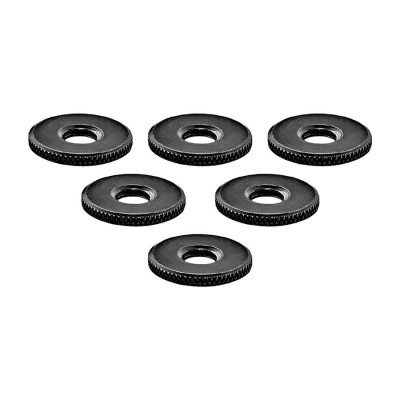Meinl Percussion Microphone Rod Counter Nuts, 5Pcs Set
