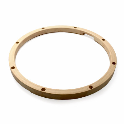 "12"" 6 Lug Snare Side 22 Ply Unfinished Maple Hoop MHT-1206S"