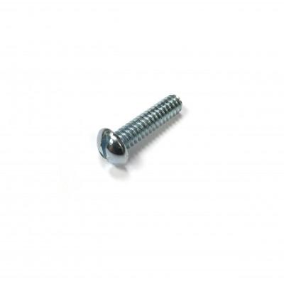 "Ludwig Machine Screw 10-24 thread x 7/8"" Slotted Round Head"