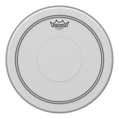 Remo POWERSTROKE 3 Drum Head - Coated - Clear Dot Top Side 10 inch