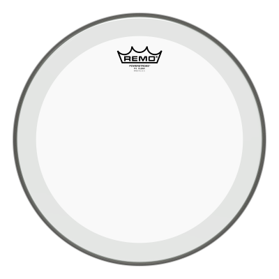Remo POWERSTROKE 4 Drum Head - Clear 12 inch