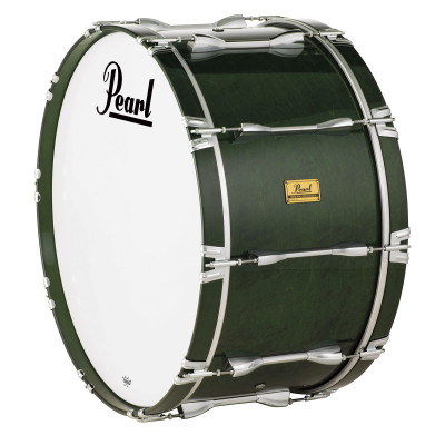 Pearl Pipe Band Series Bass Drums w/ Metal Lugs