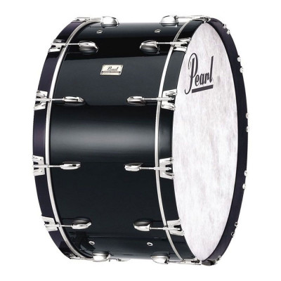 Pearl Concert Bass Drums - Midnight Black