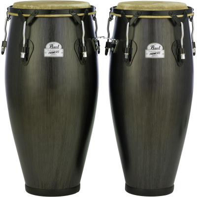 "Pearl Primero 10""/11"" Thai Oak Set w/o Stands - Ebony"