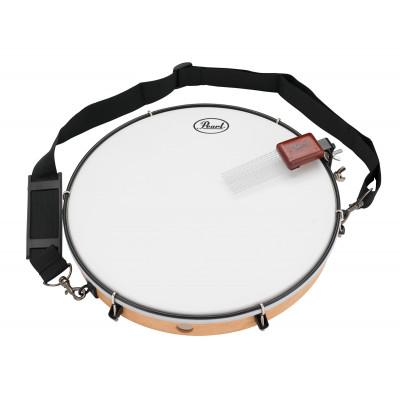 "Pearl 14"" Tunable Frame Drum w/ Hip Clipz Strap & Slap Set"
