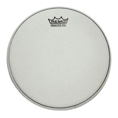 "Remo Batter, AMBASSADOR, Coated, 10"" Diameter, For PRACTICE PAD"