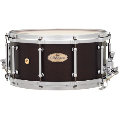 """Pearl Philharmonic Snare 14""""x6.5"""" African Mahogany w/ Maple Hoops - PHX-1465"""