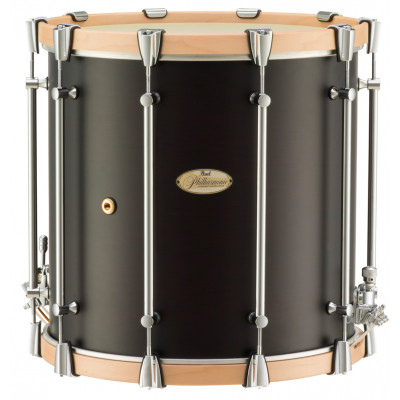 """Pearl Philharmonic Snare 16""""x16"""" African Mahogany w/ Maple Hoops"""