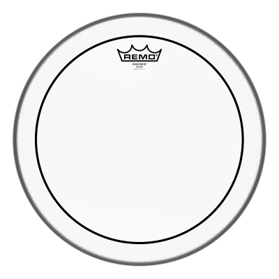 Remo PINSTRIPE Drum Head - Clear 14 inch