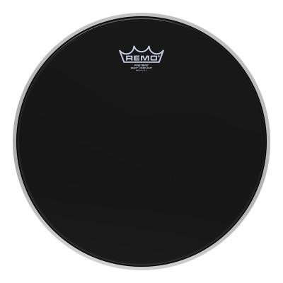 Remo PINSTRIPE Drum Head - Crimplock - Ebony 13 inch