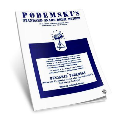 Podemskis Standard Snare Drum Method - by Benjamin Podemski