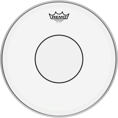 Remo POWERSTROKE 77 Drum Head - Clear - Clear Dot 14 inch