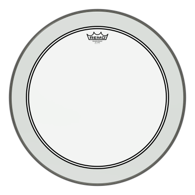 Remo POWERSTROKE 3 Drum Head - Clear 10 inch