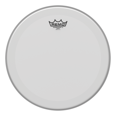 Remo POWERSTROKE X Drum Head - Coated - Clear Dot On Top 13 inch