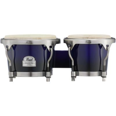 "Pearl 7"" & 8.5"" Primero Pro Wood Bongo - Midnight Fade - PWB100DX521"