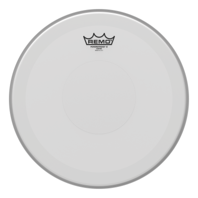 Remo Powerstroke X Coated Drumheads w/ Clear Top Dot
