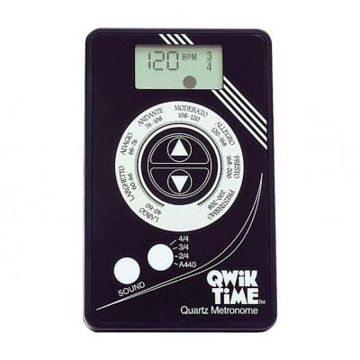 Qwik Time Metronome - Credit Card Size - Quartz