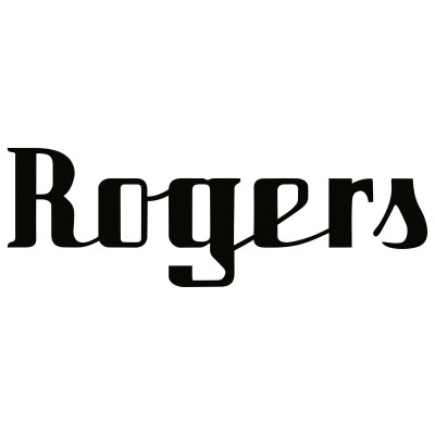 Rogers Vintage Bass Drum Logo