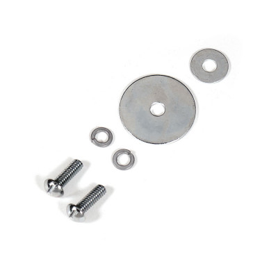 "Rogers 8-32 x 3/8"" Replacement Lug Screw & Washer Set - Round Head Slotted w/ 1"" & 1/2"" Washers"