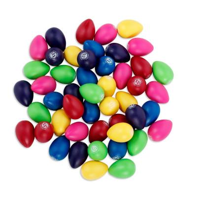LP Rhythmix Plastic Egg Shakers 48 pcs Asst. Colors - LPR001BD48-I