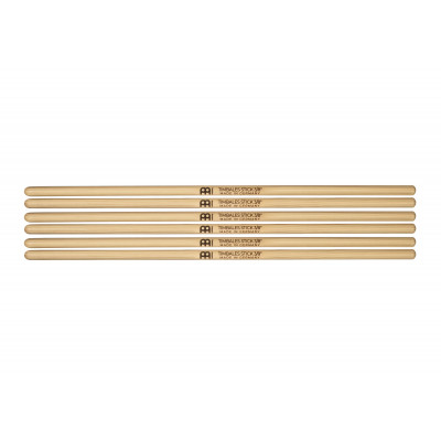 """Meinl Timbales Stick 3/8"""", Drumstick Hickory, Pair, 3-Pack - SB118-3"""