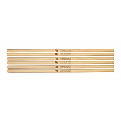 """Meinl Timbales Stick 1/12"""", Drumstick Hickory, Pair, 3-Pack - SB119-3"""