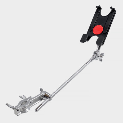 Gibraltar Tablet Mount with Long Boom & Clamp