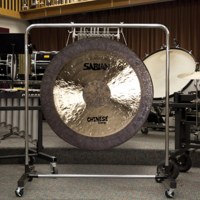 SABIAN Large Gong Stand w/ Wheels Holds UP TO - SD40GS