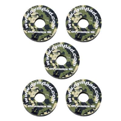 Cympad Chromatics Cymbal Washers 40/15mm Camouflage - 5pk